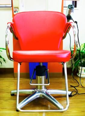 Barber Chair in Salon