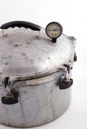 old pressure pot
