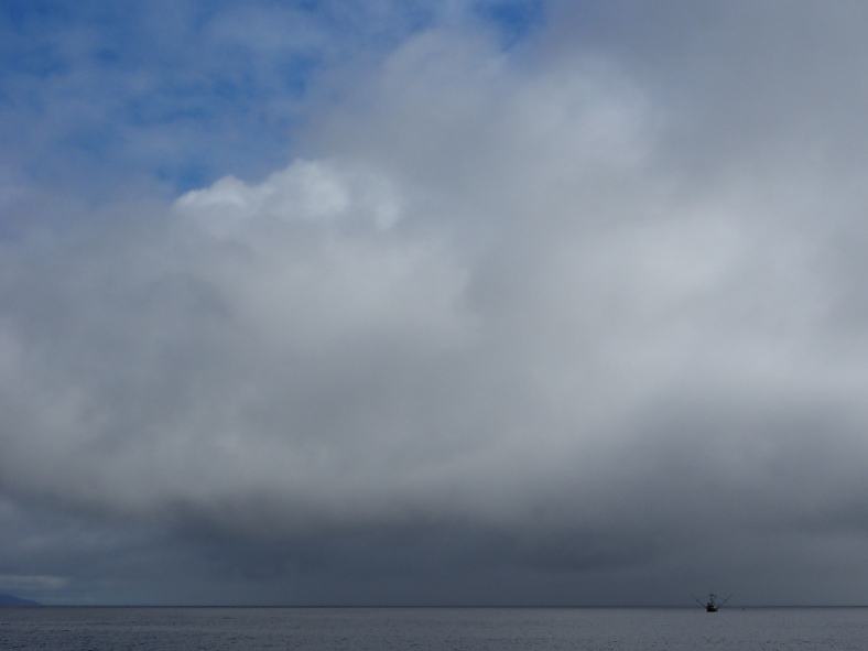 Riggings below the storm