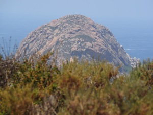 Morro Rock from Black Hill