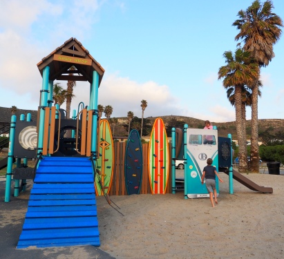 The playground at Jalama Beach